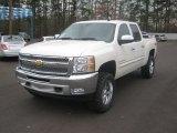 2012 White Diamond Tricoat Chevrolet Silverado 1500 LT Crew Cab 4x4 #61580725