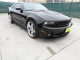 2011 Ebony Black Ford Mustang Roush Stage 2 Coupe #61580380