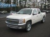 2012 White Diamond Tricoat Chevrolet Silverado 1500 LT Crew Cab #61580724