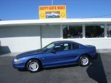 1995 Bright Blue Ford Mustang V6 Coupe #6149592