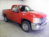 2012 Victory Red Chevrolet Silverado 1500 Work Truck Regular Cab #61646538