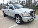 2008 Bright Silver Metallic Dodge Ram 1500 SLT Quad Cab #61646827