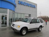 2001 Oxford White Ford Explorer Sport 4x4 #61646180