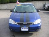 2005 Sonic Blue Metallic Ford Focus ZX3 S Coupe #6138218