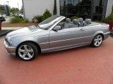 2006 Silver Grey Metallic BMW 3 Series 325i Convertible #61646488