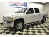 2012 Summit White Chevrolet Silverado 1500 LT Crew Cab 4x4 #61646761