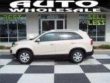 2011 White Sand Beige Kia Sorento LX V6 #61646471