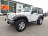 2011 Bright White Jeep Wrangler Rubicon 4x4 #61646458