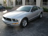 2006 Satin Silver Metallic Ford Mustang V6 Premium Coupe #6144837