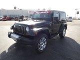2012 Black Jeep Wrangler Sahara 4x4 #61646402