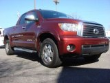2010 Salsa Red Pearl Toyota Tundra Limited Double Cab 4x4 #61646057
