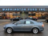 2011 Steel Blue Metallic Ford Fusion SEL V6 AWD #61646376