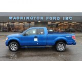 2012 Blue Flame Metallic Ford F150 XLT SuperCab 4x4 #61646368