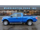 2012 Blue Flame Metallic Ford F150 XLT SuperCab 4x4 #61646363