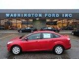 2012 Red Candy Metallic Ford Focus SE Sedan #61646360