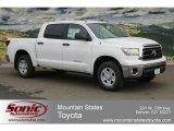 2012 Super White Toyota Tundra CrewMax 4x4 #61645996