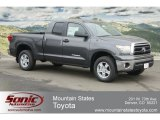 2012 Magnetic Gray Metallic Toyota Tundra Double Cab 4x4 #61645994