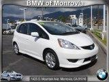 2011 Taffeta White Honda Fit Sport #61646317