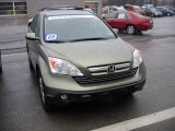 2009 Green Tea Metallic Honda CR-V EX-L 4WD #61645959