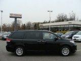 2012 Black Toyota Sienna XLE #61646302
