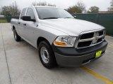 2010 Bright Silver Metallic Dodge Ram 1500 ST Quad Cab #61646289