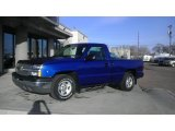 2004 Arrival Blue Metallic Chevrolet Silverado 1500 Regular Cab #61646284