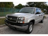 2005 Silver Birch Metallic Chevrolet Silverado 1500 Z71 Crew Cab 4x4 #61646274