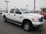 2007 Bright White Dodge Ram 3500 SLT Mega Cab 4x4 #61646578