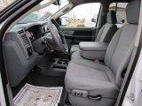 2007 Dodge Ram 3500 SLT Mega Cab 4x4 Medium Slate Gray Interior