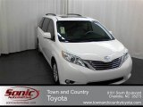 2012 Super White Toyota Sienna XLE #61646562