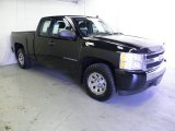 2008 Black Chevrolet Silverado 1500 Work Truck Extended Cab #61646547