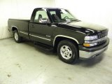 2001 Onyx Black Chevrolet Silverado 1500 Regular Cab #61646544