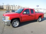 2012 Victory Red Chevrolet Silverado 1500 LT Extended Cab 4x4 #61702287