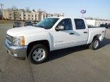 2012 Summit White Chevrolet Silverado 1500 LT Crew Cab 4x4 #61702286