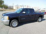 2012 Imperial Blue Metallic Chevrolet Silverado 1500 LS Extended Cab #61702285