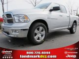2012 Bright Silver Metallic Dodge Ram 1500 Big Horn Quad Cab #61701955