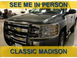 2011 Taupe Gray Metallic Chevrolet Silverado 1500 LS Regular Cab 4x4 #61702250