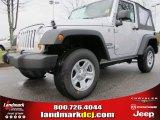 2012 Bright Silver Metallic Jeep Wrangler Sport 4x4 #61701926
