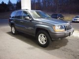 2002 Steel Blue Pearlcoat Jeep Grand Cherokee Laredo 4x4 #61702545