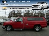 2007 Victory Red Chevrolet Silverado 1500 Classic Work Truck Regular Cab #61702531