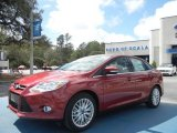2012 Red Candy Metallic Ford Focus SEL Sedan #61701876