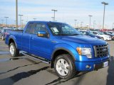 2010 Blue Flame Metallic Ford F150 FX4 SuperCab 4x4 #61702203
