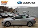 2012 Ice Silver Metallic Subaru Impreza 2.0i Premium 4 Door #61701858