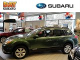 2012 Cypress Green Pearl Subaru Outback 3.6R Limited #61701853