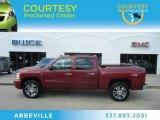 2007 Sport Red Metallic Chevrolet Silverado 1500 LT Crew Cab 4x4 #61702470
