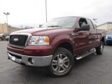 2006 Dark Toreador Red Metallic Ford F150 XLT SuperCab 4x4 #61701845