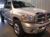 2006 Bright Silver Metallic Dodge Ram 1500 Laramie Quad Cab 4x4 #61702183