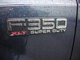 2002 Ford F350 Super Duty XLT Crew Cab 4x4 Marks and Logos