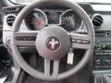 2007 Ford Mustang GT Deluxe Coupe Steering Wheel
