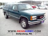 1995 Forest Green Metallic GMC Sierra 1500 SLE Extended Cab 4x4 #61702174